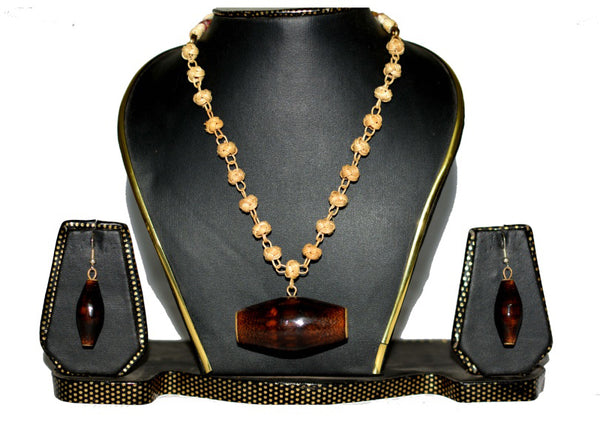 Bamboo Jewellery Set -MBFJN005