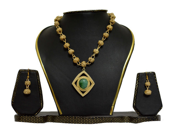 Bamboo Jewellery Set -MBFJN012