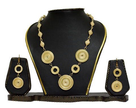 Bamboo Jewellery Set -MBFJN016
