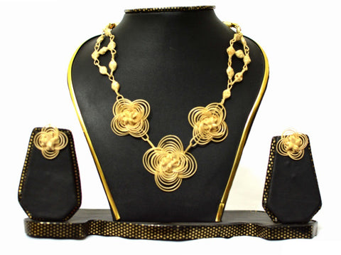 Bamboo Jewellery Set -MBFJN024