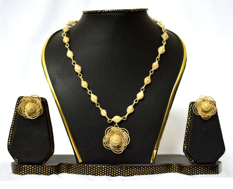 Bamboo Jewellery Set -MBFJN027