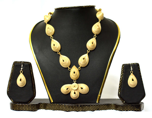 Bamboo Jewellery Set -MBFJN034