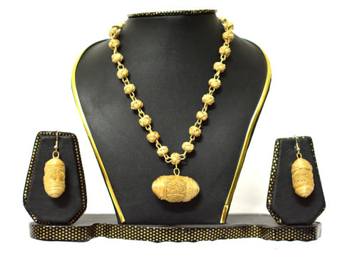 Bamboo Jewellery Set -MBFJN037