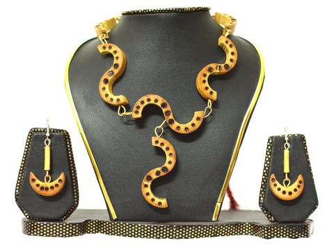 Bamboo Jewellery Set -MBFJN038