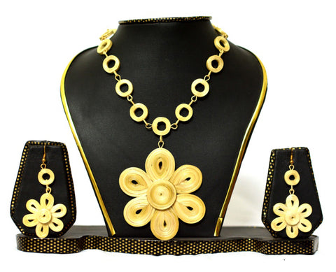 Bamboo Jewellery Set -MBFJN043