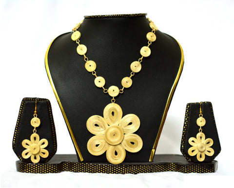 Bamboo Jewellery Set -MBFJN044