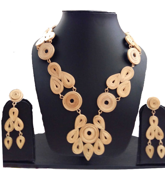 Bamboo Jewellery Set -MBFJN050