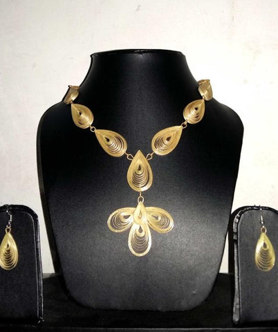 Bamboo Jewellery Set -MBFJN051