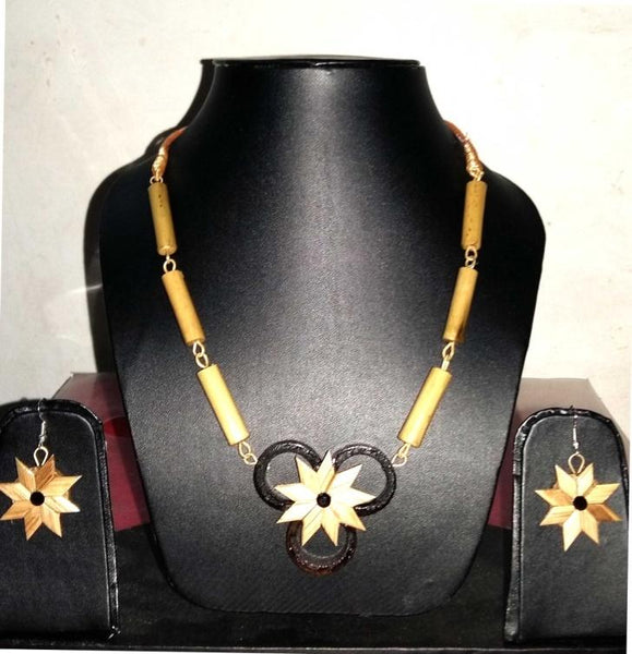 Bamboo Jewellery Set -MBFJN052