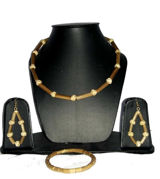 Bamboo Jewellery Set -MBFJN065