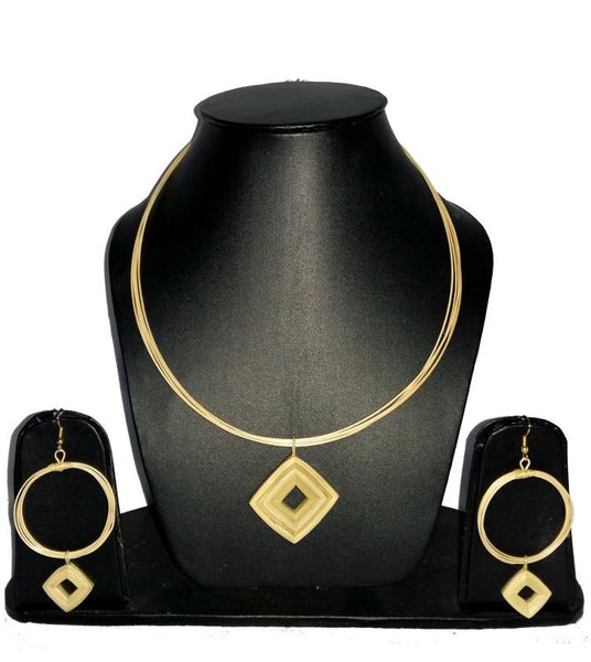 Bamboo Jewellery Set -MBFJN073