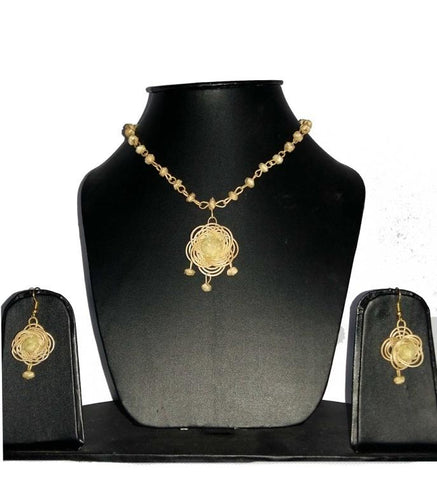 Bamboo Jewellery Set -MBFJN076
