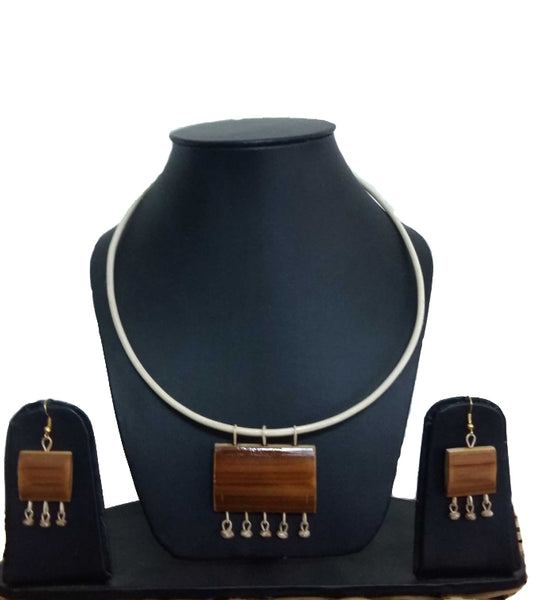 Bamboo Jewellery Set -MBFJN081