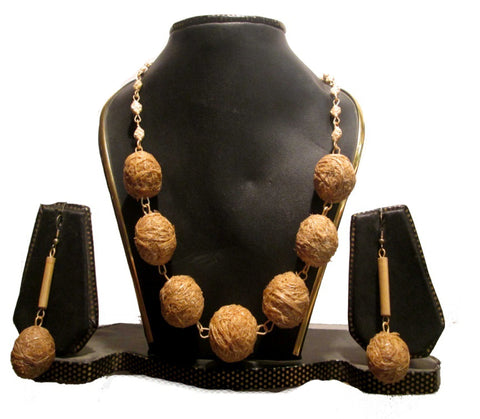 Bamboo Jewellery Set -MBFJN095