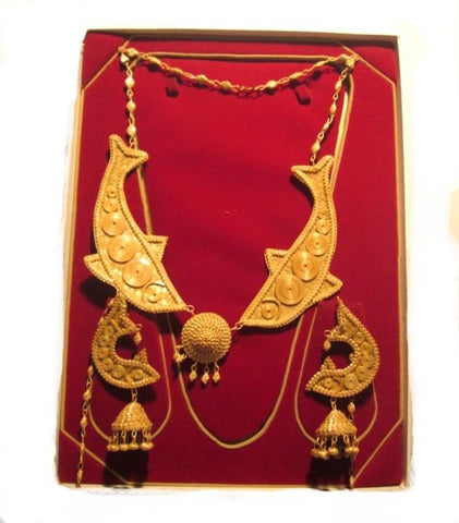Bamboo Jewellery Set -MBFJN096