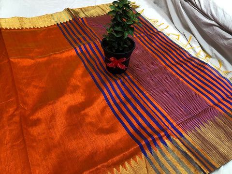 Banarasi Raw Silk Saree-BNS032