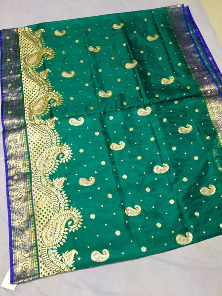 Banarasi Shalu Paithani Saree-Design PS187