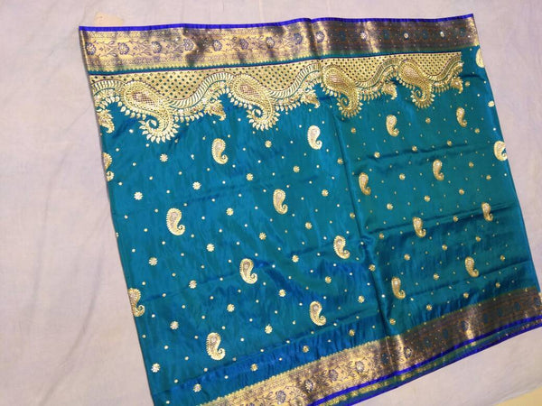 Banarasi Shalu Paithani Saree-Design PS188