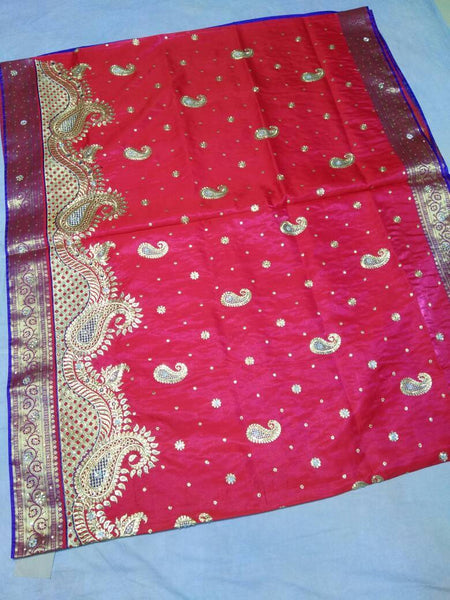 Banarasi Shalu Paithani Saree-Design PS190