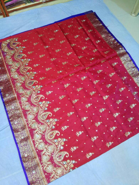 Banarasi Shalu Paithani Saree-Design PS193