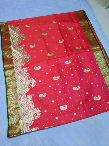 Banarasi Shalu Paithani Saree-Design PS194