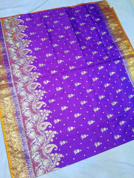 Banarasi Shalu Paithani Saree-Design PS195