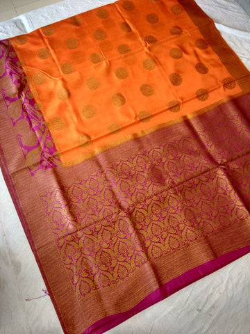 Bonga Silk Paithani Saree-Design PS206