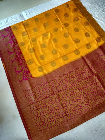 Bonga Silk Paithani Saree-Design PS208