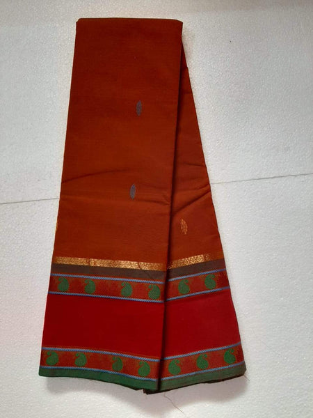 Chettinad Handloom Cotton Saree_CHCS004