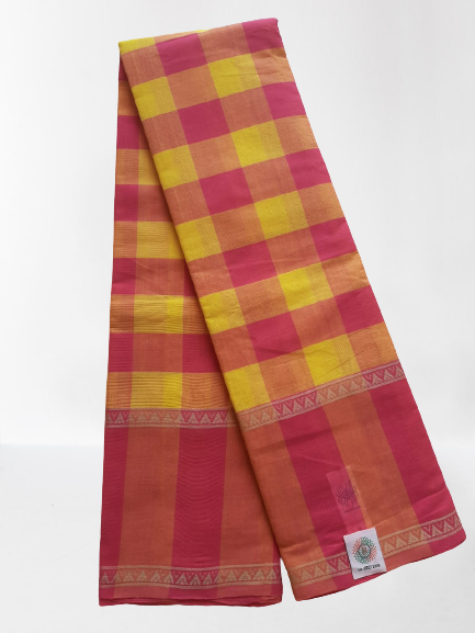 Chettinad Handloom Cotton Saree_CHCS015