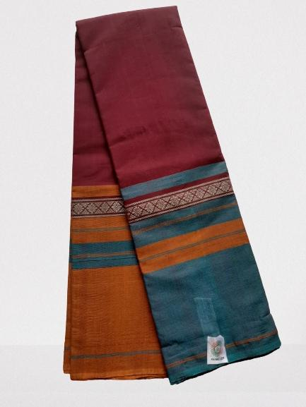 Chettinad Handloom Cotton Saree_CHCS022