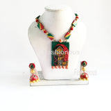 Damini and A Rajasthani girl Art Jewellery