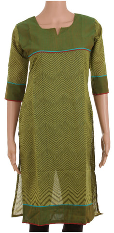 Fern Green Kurta