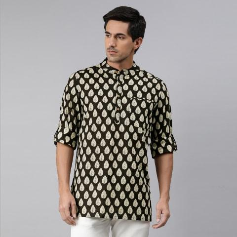 Men's Kurta Black