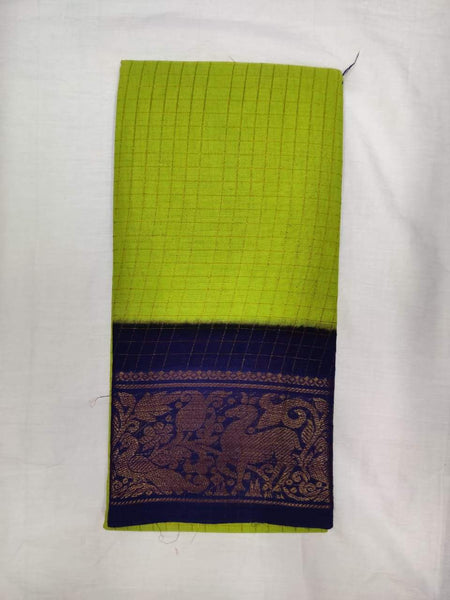 Madurai Sungudi Sarees - Double side Jari Border MSS 026