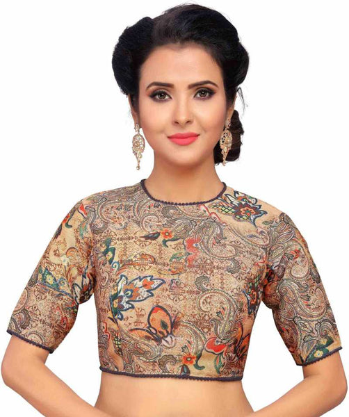 Multicolored Floral Printed Readymade Blouse