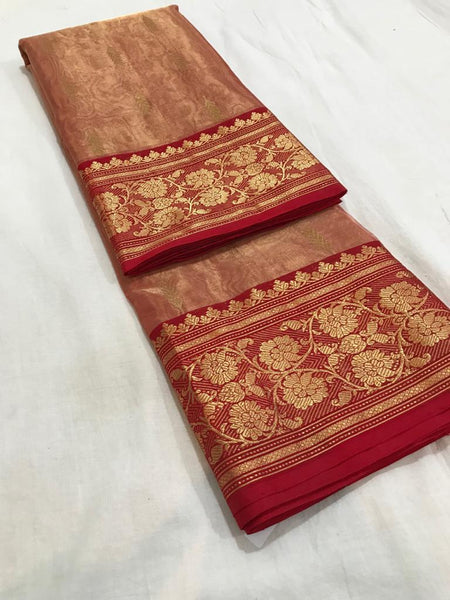 Pure Tissue Silk Chanderi Saree