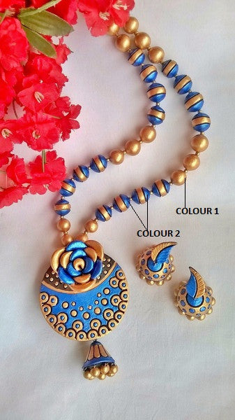 Rose Terracotta Jewellery Set