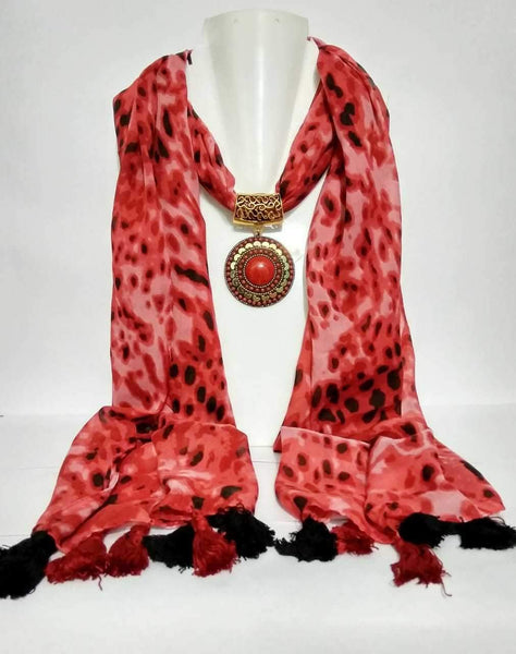 Scarf Necklace-SN005