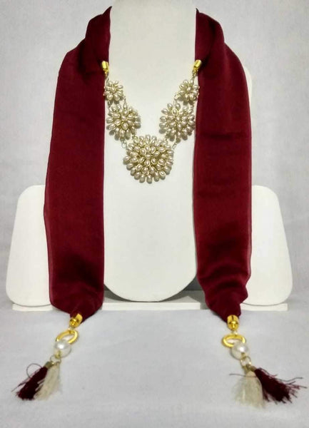 Scarf Necklace-SN014