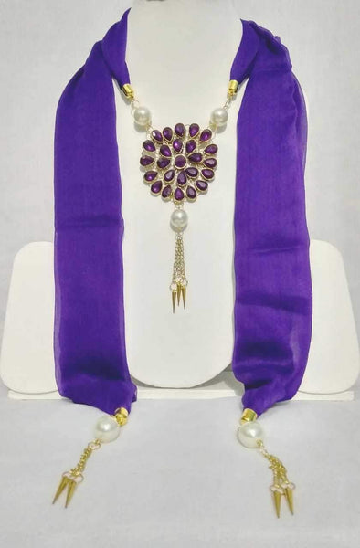 Scarf Necklace-SN015