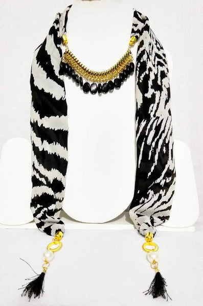 Scarf Necklace-SN016