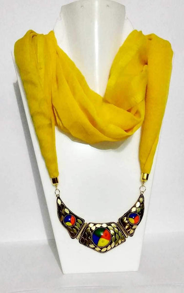 Scarf Necklace-SN018