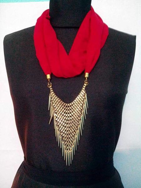 Scarf Necklace-SN022
