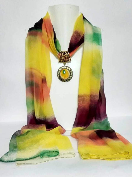 Scarf Necklace-SN025