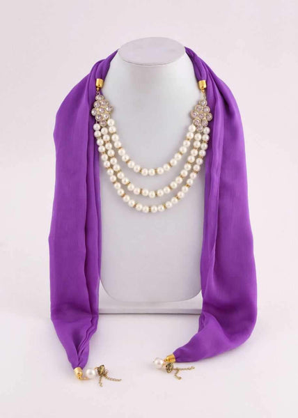 Scarf Necklace-SN026