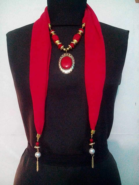 Scarf Necklace-SN027