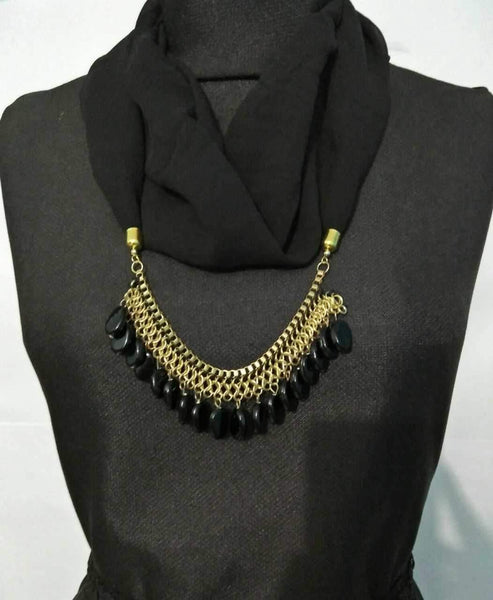 Scarf Necklace-SN028