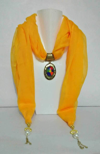 Scarf Necklace-SN029