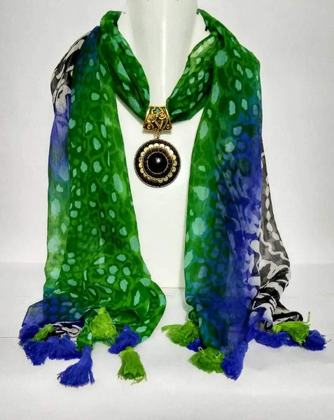 Scarf Necklace-SN030